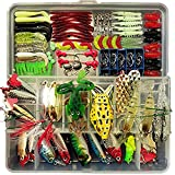 Victoronlineshop Fishing Lure Elifefishing Fishing Tackle Box with Tackle...