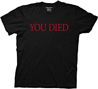 Dark Souls You Died Adult T-Shirt