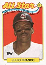 1989 Topps #398 Julio Franco AS