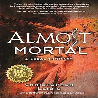 Almost Mortal audiobook cover art
