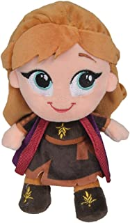 Ty Reines des Neiges II-Peluche Musicale Anna 23cm TY02407 Multicolore