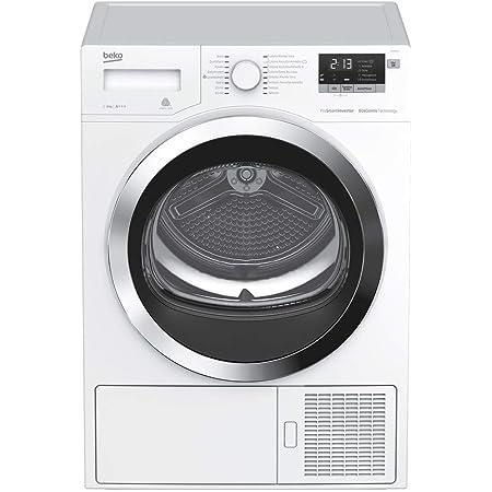 Beko DRY833CI Autonome Charge avant 8kg A+++ Blanc sèche-linge - Sèche-linge (Autonome, Charge avant, Pompe à chaleur, Blanc, boutons, Rotatif, LED)