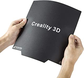 Creality 3D CR-10/10S Ultra-Flexible Removable Magnetic Build Surface 3D Printer Heated Bed Cover 12x12 Inches