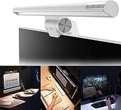 RANHOME LED-lampa för elläsning, USB-driven datorskärm ljusbar, ögonvänlig skärmlampa med dimbar justerbar ljusstyrka, ing...