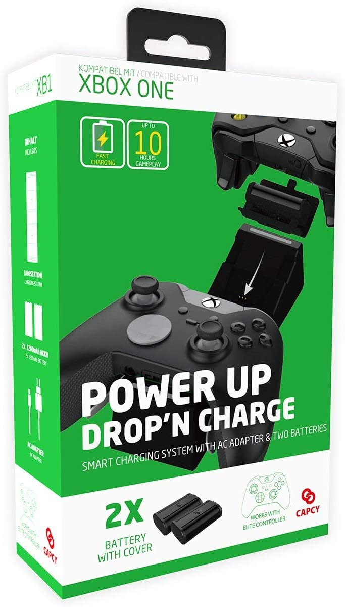 Ranking TOP18 CAPCY Xbox ONE Charging Station Rechargeable with Bat Seattle Mall 1200mAh 2X