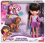 Mattel CGT65 - Fisher-Price - Dora - Train & Play Dora y Perrito Cachorro [DVD]