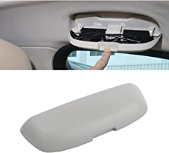 Sunglasses Holder for BMW 3 5 6 7 X3 X5 X7 Series,Glasses Case Storage Box Replace for Driver Side Overhead Grab Handle (Fits:F30 F31 F80 F34 F10 F11 F25/G20 G30 G31 G32 G11 G12 G01 G05 G07) (Gray)