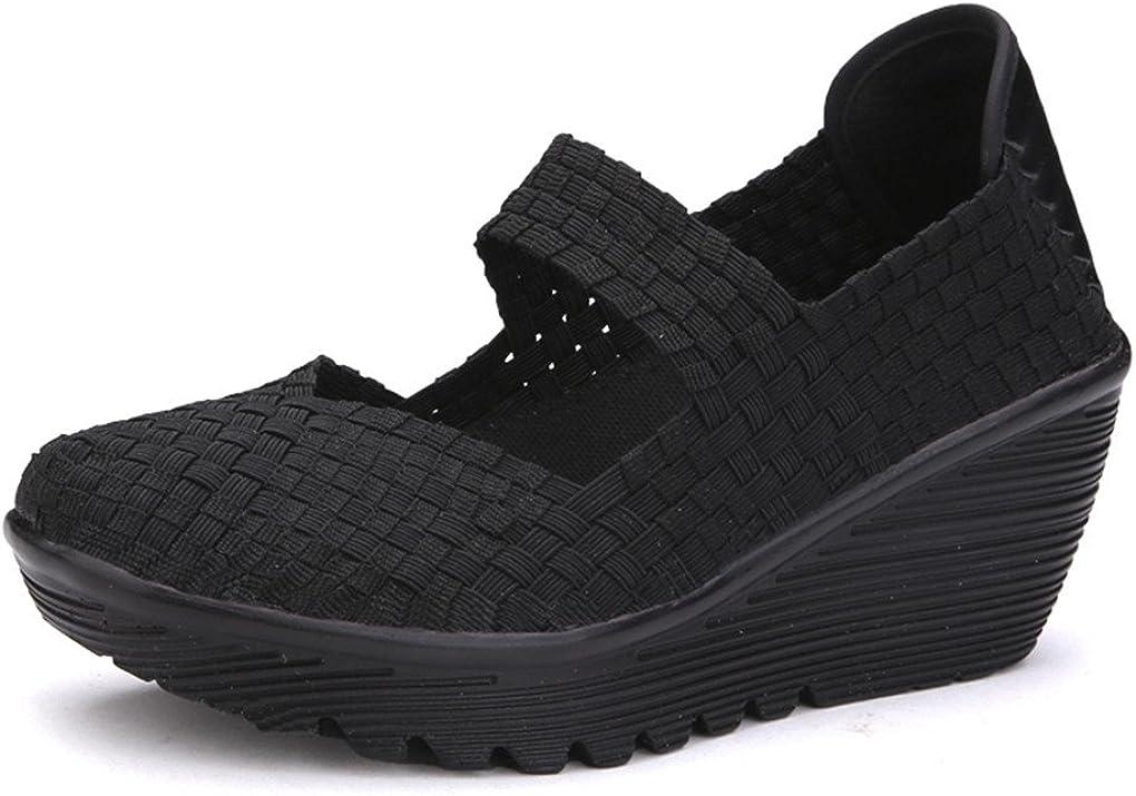 Ruiatoo shop Women's Platform Wedge 55% OFF Comfortable Shoes Sandals Walking