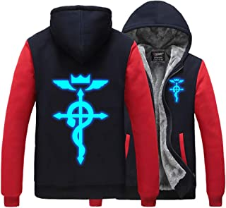 Poetic Walk Fullmetal Alchemist Noctilucent Brotherhood Edward Elric Cosplay Costume Jacket Hoodie