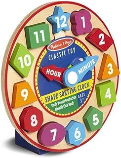 Melissa and Doug Shape Sorting Clock 8593 - Activity and Amusement