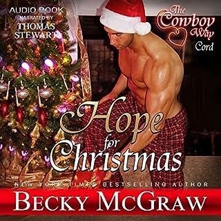 Hope for Christmas audiobook cover art