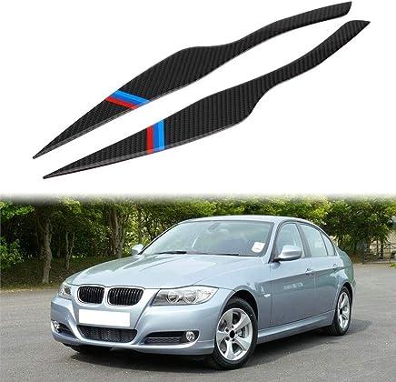 Carrosserie, extérieur Cadrages, bordures de phares BMW 3 E90 E91 Sourcils Phare Couvercles Paupières Sourcils 2005-2012