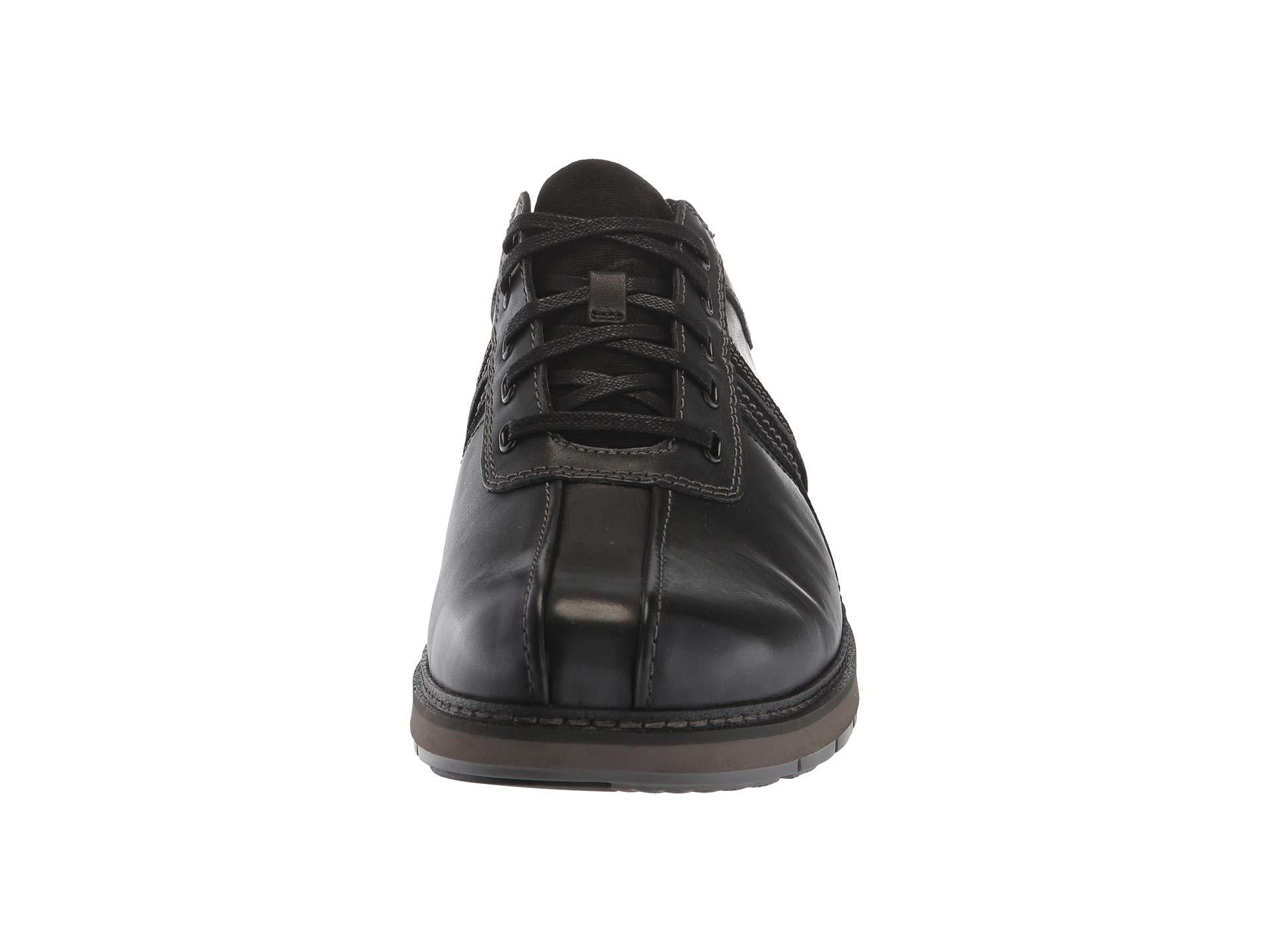 Black Clarks Go Un Ramble Leather Zw674x