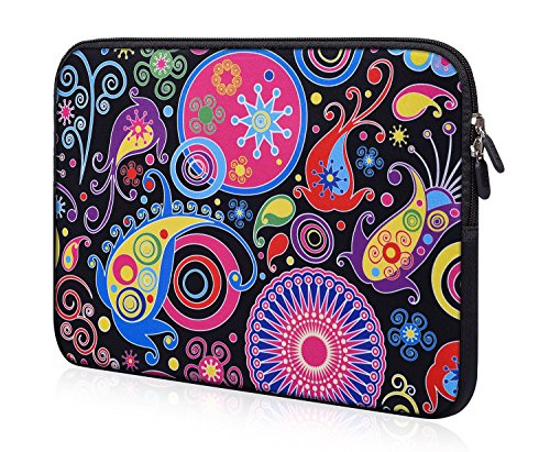11.6-12 inch Chromebook Case Neoprene Laptop Bag Sleeve Compatible With Lenovo Chromebook C330 C340/Samsung Chromebook 4/Acer Chromebook Spin 311/ASUS Chromebook Plus V2 12.2 Case bag for girl student
