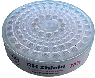 RHShield Cigar Humidity Beads 70% RH Round Humidifier for 150 Cigars