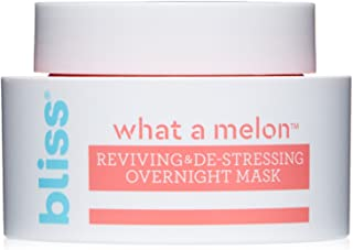 Sponsored Ad - Bliss - What a Melon Overnight Facial Mask | Reviving & De-stressing Overnight Mask | Hydrates, Nourishes, ...