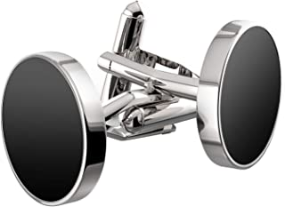 Jewelry Stainless Steel Classic Tuxedo Shirt Cufflinks for Men Unique Business Wedding White