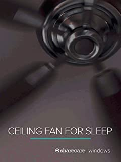 Ceiling Fan for Sleep 9 hours
