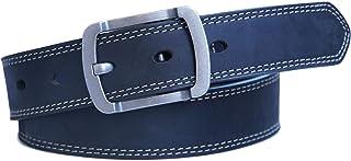حزام جينز كلاسيكي حزام جلدي كاجوال للرجال - Jeereal
