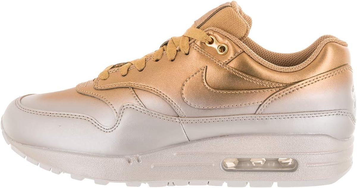 Amazon.com   Nike Women's Air Max 1 LX Metallic Gold/Flat Gold ...