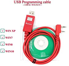 WOUXUN Programming Cable USB-K1 for G-UVD1P KG-UV6D KG-UV8D KG-UV899/KG-UV9DPLUS Two Way Radio