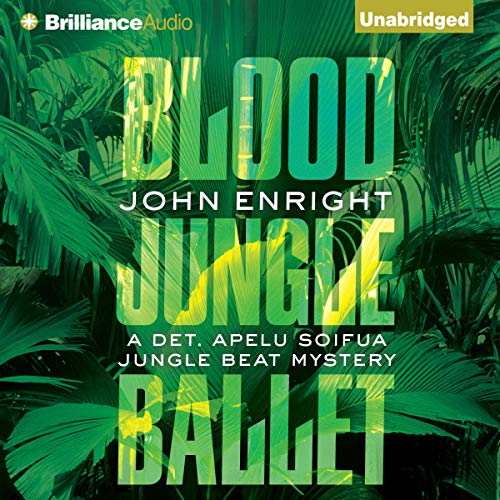 Blood Jungle Ballet audiobook cover art