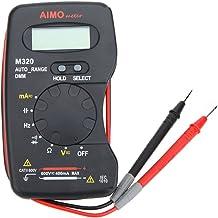 Pudincoco Multim/ètre num/érique de Poche DT-832 1999 Compte AC//DC Volt Amp Ohm Diode Continuit/é Testeur Amp/èrem/ètre Voltm/ètre Ohmm/ètre