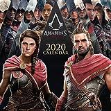 ERIK - Calendario de pared 2020 Assassins Creed, 30 x 30 cm (incluye un póster de regalo)