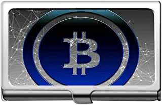 プロフェッショナル名刺ホルダー、ドルビットコインキャッシュクレジットカードIDケース/ホルダー/カードケース