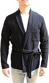 [ラルディーニ]LARDINI 17S/S ショールカラーダブルニットジャケット BLACK
