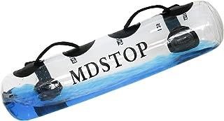 MDSTOP Adjustable Weightlifting Water Bag, Sandbag Alternative Aqua Bag Fits for Indoor Strength Training, Dumbbell for Ho...