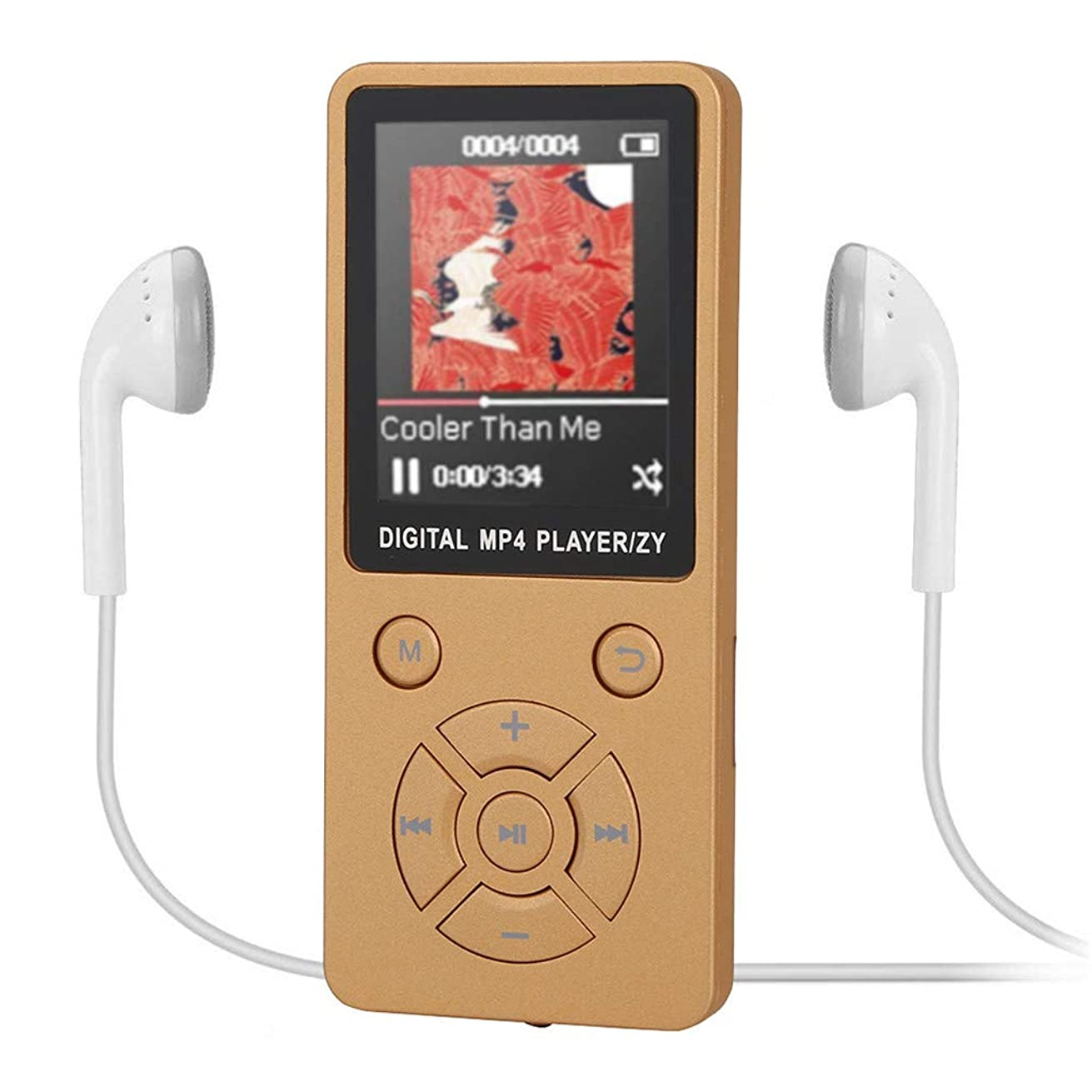 Lankcook Portable Bluetooth MP3 MP4 Player Colour Screen FM Radio Video Games Movie