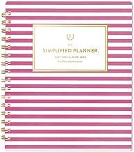 Simplified 2019-2020 Academic Year Weekly & Monthly Planner, Medium, 7