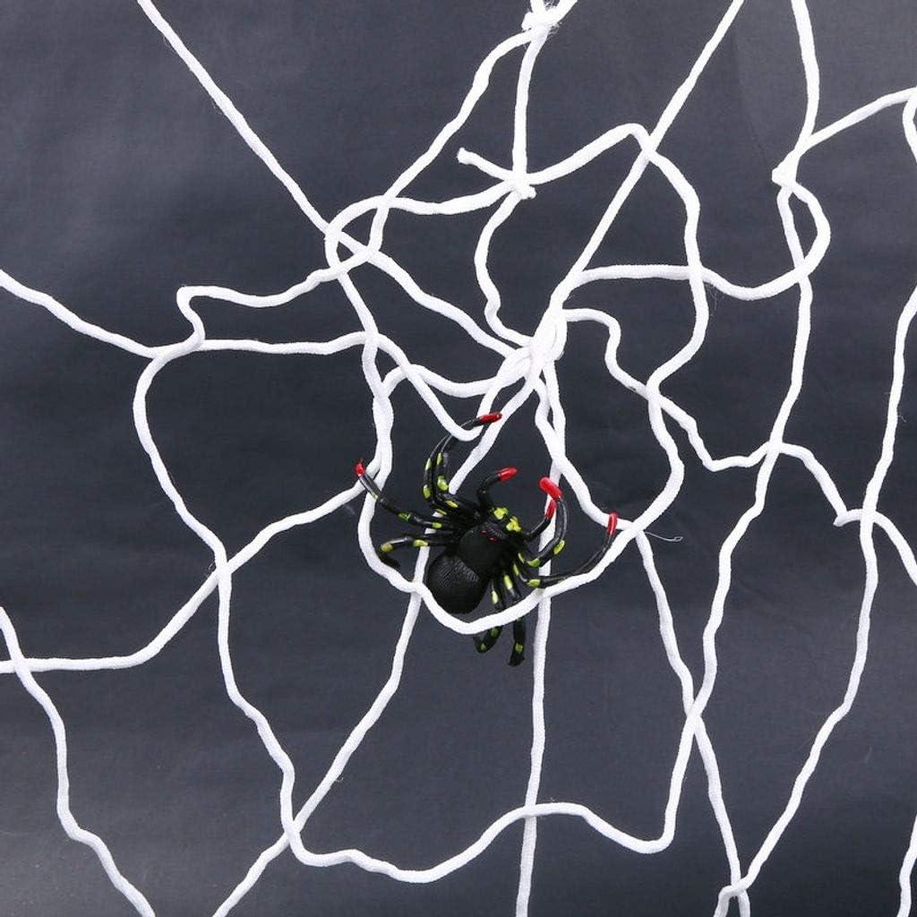 NUELLO Halloween Spider Web Party 4 years warranty Product IndoorOutdoor Haunted House