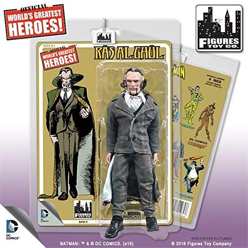 Batman Retro 8Inch Aktion Figuren Series 4: RAS AL Ghul by Figuren Toy Company