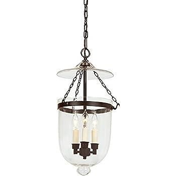JVI Designs 1009-17 Bell Jar Lantern with Star Glass Small
