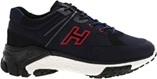 Hogan Luxury Fashion Uomo HXM4770CA70OF9780Z Blu Pelle Sneakers   Autunno-Inverno 20