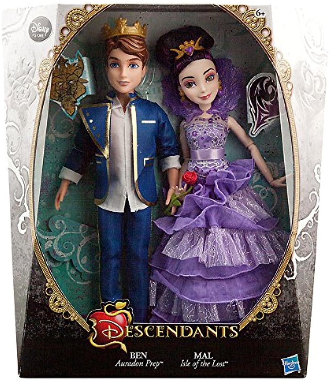 Disney Descendants Ben & Mal Exclusive 11  Doll 2Pack [Cgoldnation] by Disney