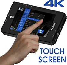 Fotga DP500IIIS A70T Touch Screen 7 Inch FHD IPS Video On-Camera Field Monitor, 1920x1080, 4K HDMI Input/Output,Dual NP-F Battery Plate for DSLR Mirrorless Cinema Camcorder Camera