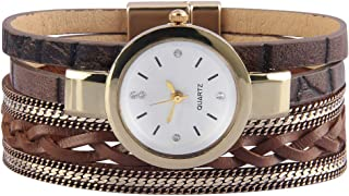 Bfiyi Leather Around Wrap Bracelet Multi Strand Cuff Bracelet Magnetic Bohemian Bracelet Jewelry for Women, Wife, Sister Holiday