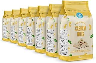 Amazon Marke: Happy Belly Ganze naturbelassene und ungesalzene Cashewnüsse, 7x200 g