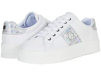 GBG Los Angeles Primly (White/Silver) Women