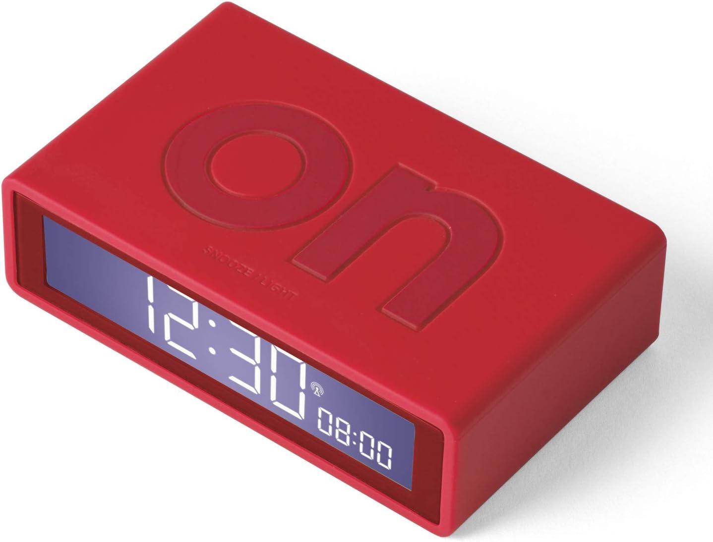 Lexon Flip Plus Reversible LCD Alarm Cheap mail order sales security - Controlled Re Radio Clock