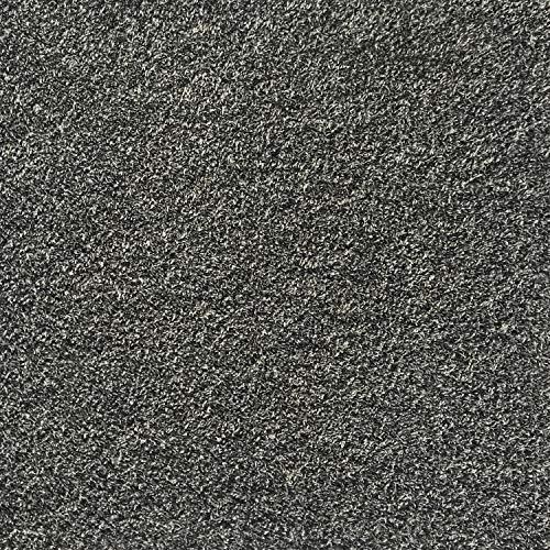 All American Carpet Tiles Wellington 23.5 x 23.5 Plush Easy to Install Do It Yourself Peel and Stick Carpet Tile Squares – 9 Tiles Per Carton – 34.52 Square Feet Per Carton (Saddle)