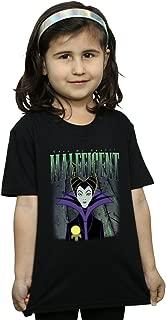 Disney Girls Sleeping Beauty Maleficent Montage T-Shirt