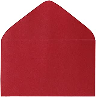 Mini Red Envelopes #63 Envelope 50 Pack Valentine's Day and Christmas Small Enclosure Cards Holiday Invitation Supplies 2 1/2