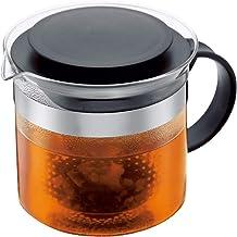 Bodum Tea Pot Nouveau, Black, 1875-01, 34 oz