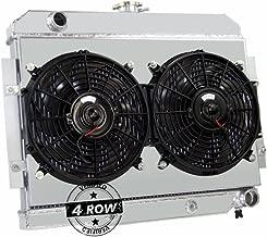 Primecooling 4 Row All Aluminum Radiator +2X12