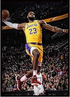 Poster Lebron James Poster Basketbal Ster Posters En Prints Canvas Schilderij Thuis Kamer Decoratie Basketbal Legend Poste...