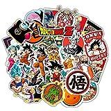 HONGC Pegatinas de Graffiti de dragón de Dibujos Animados para Coche, Motocicleta, Caja de Barra de Dibujo, Pegatina de Dibujos Animados, Juguete, 50 unids/Set